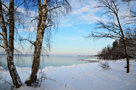 Winter coast view Stock Photo - 17443098