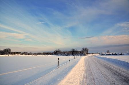 Sunny Winterlandschaft