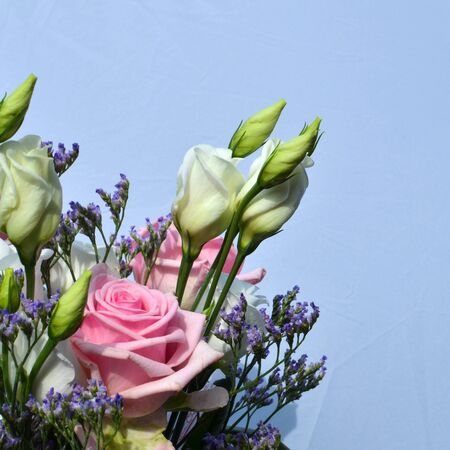 Detail of a bouquet with  pink roses Stock Photo - 20724541