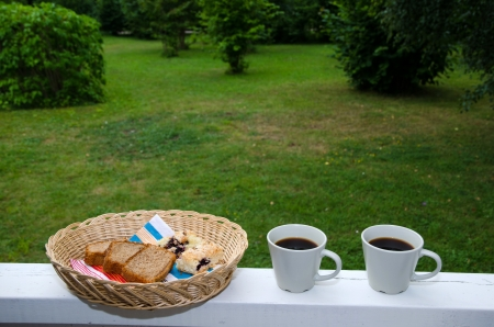 Typical swedish coffee break, fika Stock Photo - 21764062