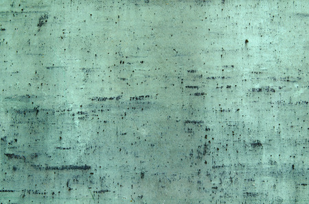 bluegreen: Blue-green oxidized copper surface