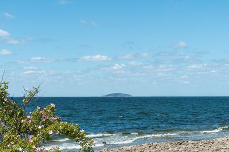 Bla Jungfrun island, a swedish national park located in the Baltic Sea