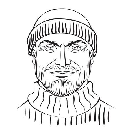 Norwigian fisherman - portrait character