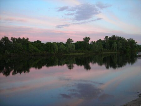 landscape reflection photo