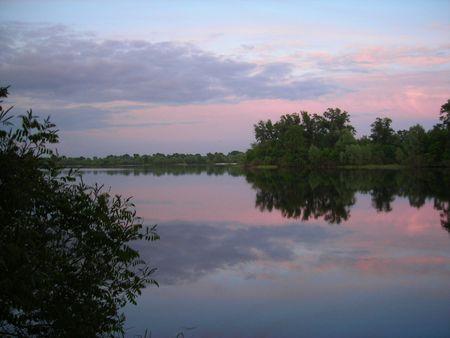 peaceful river photo