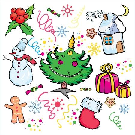 christmass: Elementos de decoraci�n christmass