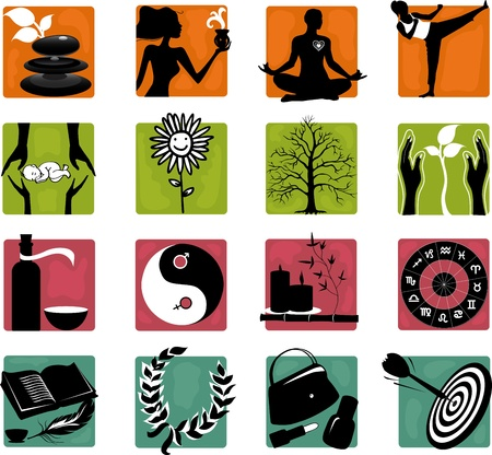Set of  heath care icons  Vector