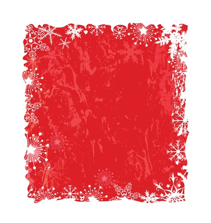 Abstract Chrismas background with snowlakes and textures Stock Vector - 14670906