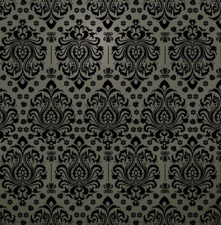 Luxury decorative floral pattern  Eps 8