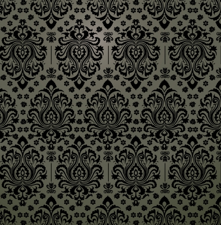 Luxury decorative floral pattern  Eps 8  Vector