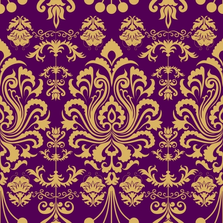 Luxury seamless decorative floral pattern  Eps 8