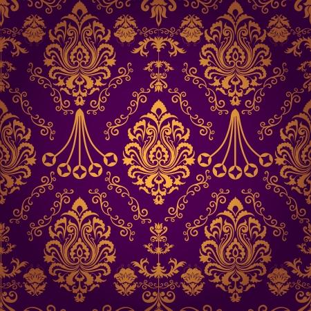 Luxury seamless decorative floral pattern  일러스트