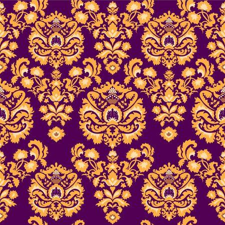 Luxury vintage seamless pattern Stock Vector - 16851423