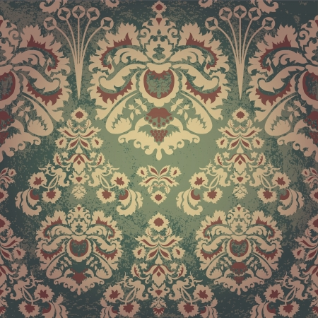 Luxury vintage seamless pattern Vector