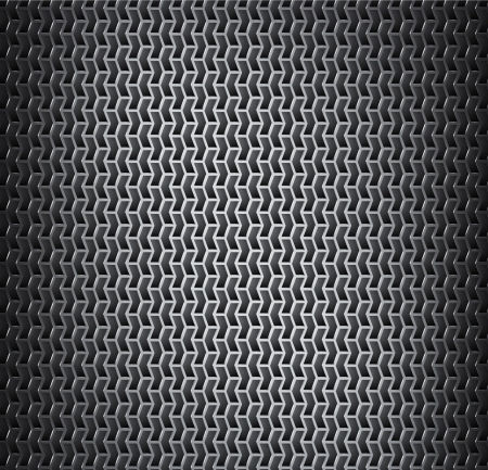 cribriform: Background with cell metal texture Illustration