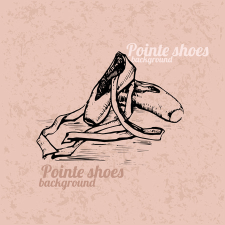 pointe: Pointe shoes background