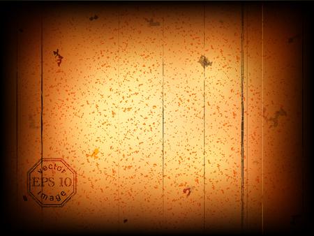 decrepit: vector illustration of old movie frame Illustration