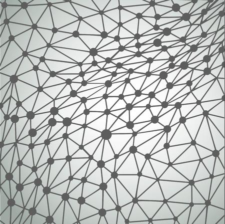 Irregular triangle background