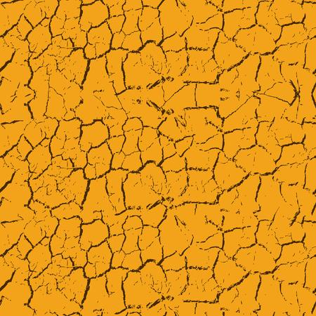 dryness: Seamless cracks background