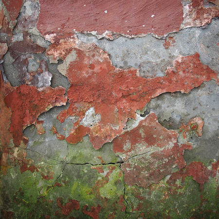 black mold: Texture of old damaged wall Stock Photo