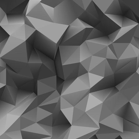 endlos: Grau Dreieck Hintergrund