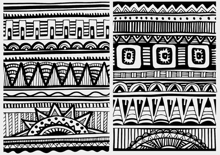 nomad: African tribal abstract patterns