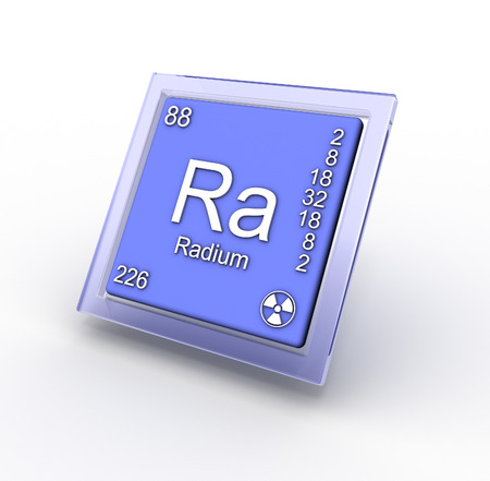 Radium   chemical element sign
