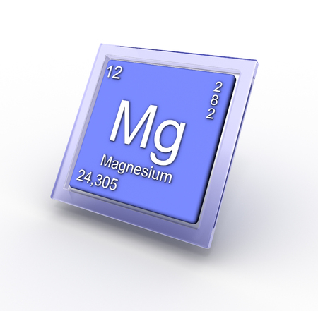radium: Magnezium  chemical element sign