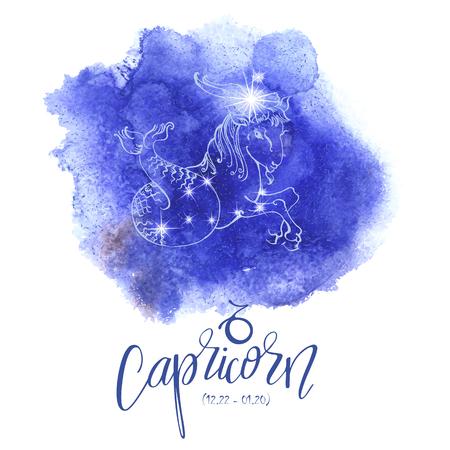 capricornio: Signo del zodíaco Capricornio