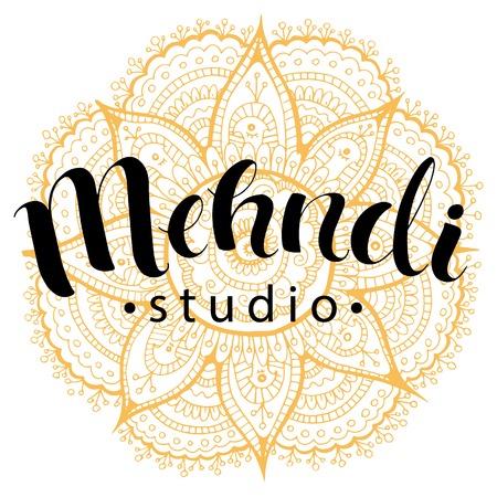 hasta: Mehndi studio logo
