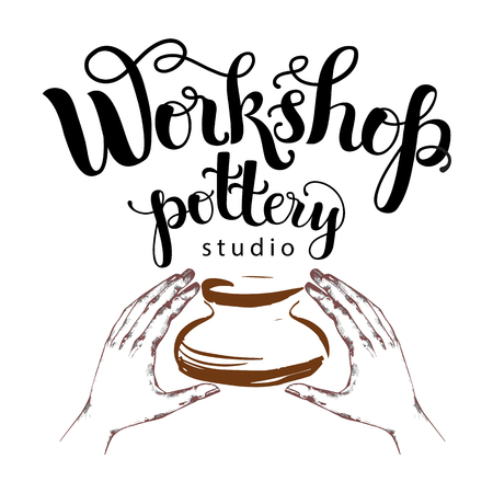 Workshop pottery studio logo