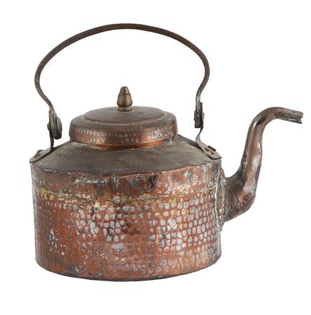 Vintage cooper teapot