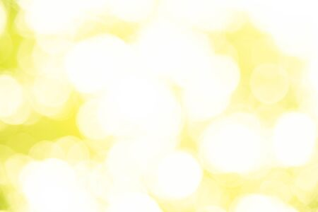 Abstract blurred yellow background bokeh christmas from natural