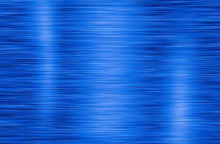 Blue metal texture background with polished Stock Photo