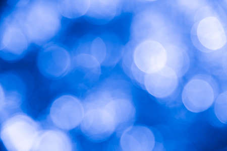 Blue bokeh background and texture from natural Stock Photo