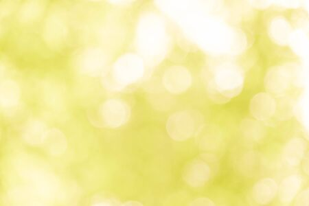 Yellow bokeh background from nature, yellow bokeh abstract