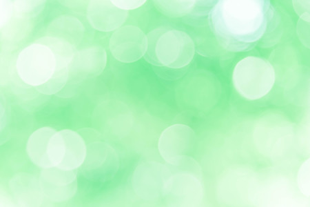 Green bokeh background, abstract texture