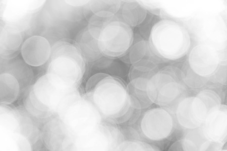 Black and white bokeh background, abstract texture