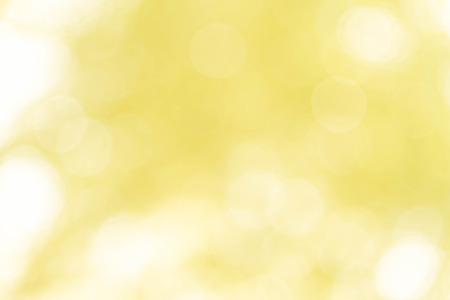 Yellow bokeh texture background from nature