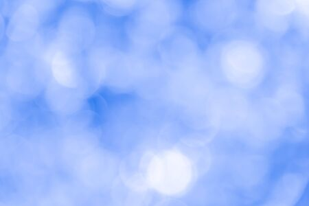 Blue bokeh texture background from natural