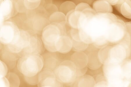 Light brown bokeh texture background from natural