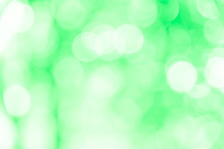 Green bokeh texture background from natural