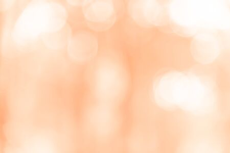 Orange bokeh texture background from natural