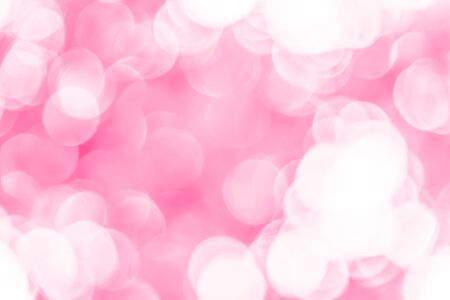 Pink bokeh texture background from natural