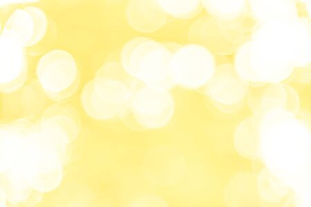 Yellow bokeh texture background from natural Stock fotó