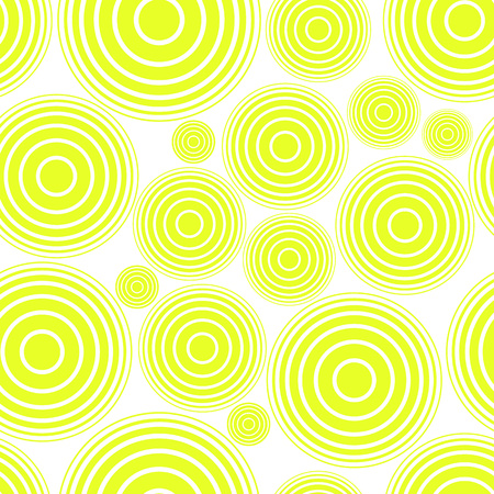 Seamless pattern of lime green circles. Design elements for printables, card, wallpaper, scrapbooking, fabric print. Illustration