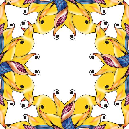 exquisiteness: Decorative vector illustration