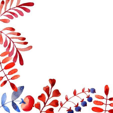 herbal background: Herbal background pattern Illustration