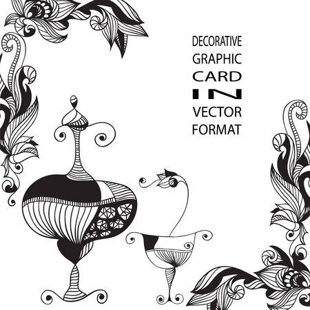 Antique still life. Illustration in vector format.