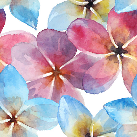 Plumeria. Vector aquarel. Stock Illustratie